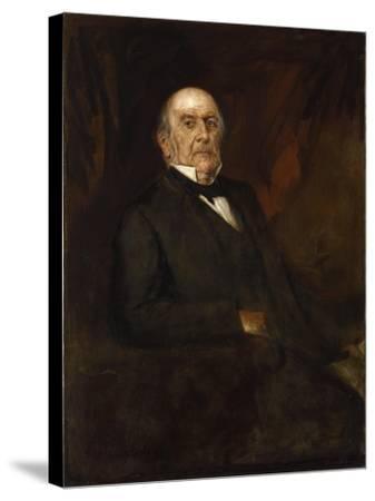 Portrait of William Ewart Gladstone, 1886-Franz Seraph von Lenbach-Stretched Canvas Print