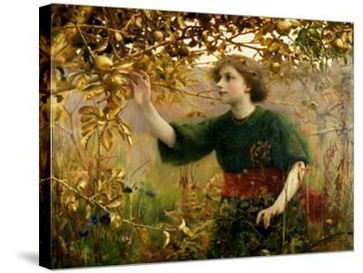 A Golden Dream, 1893-Thomas Cooper Gotch-Stretched Canvas Print