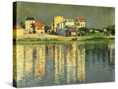 Banks of the Seine at Argenteuil, 1889-Gustave Caillebotte-Stretched Canvas Print