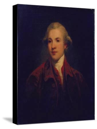 Unknown Man, Called Richard Brinsley Sheridan-Sir Joshua Reynolds-Stretched Canvas Print