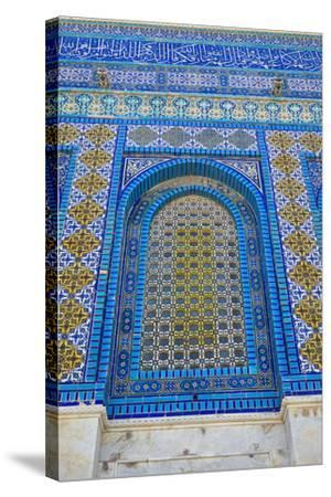 The Dome of the Rock, East Jerusalem--Stretched Canvas Print
