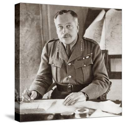 Field Marshal Douglas Haig, 1st Earl Haig, 1861 – 1928. . from the Story of--Stretched Canvas Print