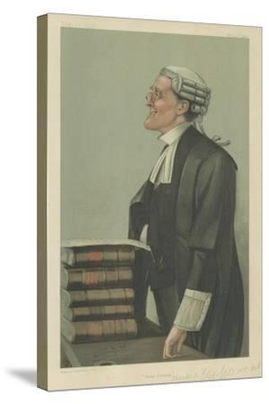 Mr Charles a Cripps-Sir Leslie Ward-Stretched Canvas Print