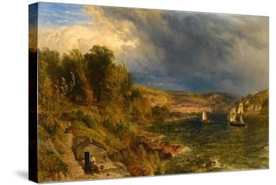 Dartmouth from St. Petrox Churchyard, 1852-Henry Dawson-Stretched Canvas Print