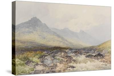 Tavy Cleave, Dartmoor , C.1895-96-Frederick John Widgery-Stretched Canvas Print
