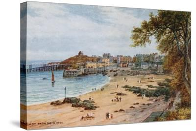 Tenby-Alfred Robert Quinton-Stretched Canvas Print
