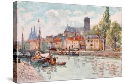 Soissons-Herbert Menzies Marshall-Stretched Canvas Print