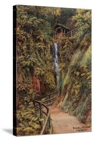 Shanklin Chine, Isle of Wight-Alfred Robert Quinton-Stretched Canvas Print