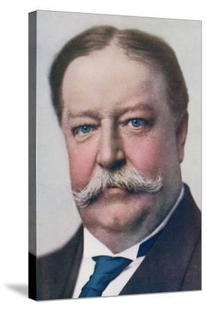 William Howard Taft, 1857 to 1930. 27th President of the United States. from the Wonderful Year…--Stretched Canvas Print