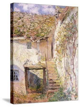 A Path on the Edges of Pontoise-Camille Pissarro-Stretched Canvas Print