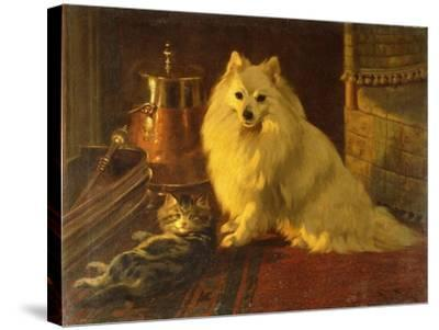 Best of Friends-Barker Wright-Stretched Canvas Print