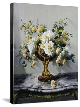Summer Idyll-Vernon Ward-Stretched Canvas Print