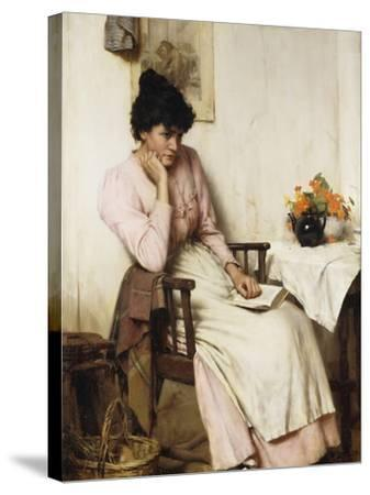 Distant Thoughts-Walter		 Langley-Stretched Canvas Print