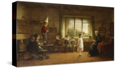 The Dames School-Frederick Daniel		 Hardy-Stretched Canvas Print