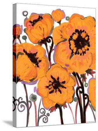 Gold Anemone-Natasha Wescoat-Stretched Canvas Print