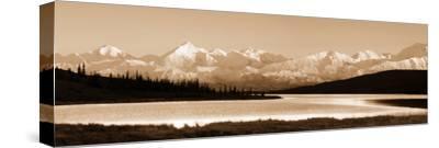 Mt McKinley, Denali-Howard Ruby-Stretched Canvas Print