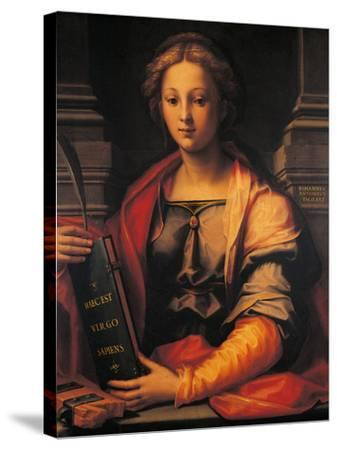 Saint Catherine of Alexandria-Giovanni Antonio Sogliani-Stretched Canvas Print