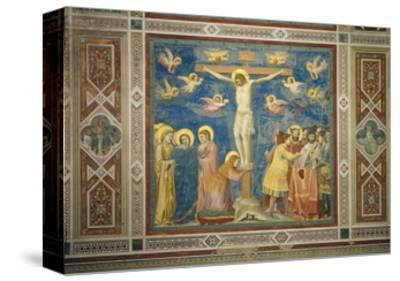 Stories of the Passion the Crucifixion-Giotto di Bondone-Stretched Canvas Print