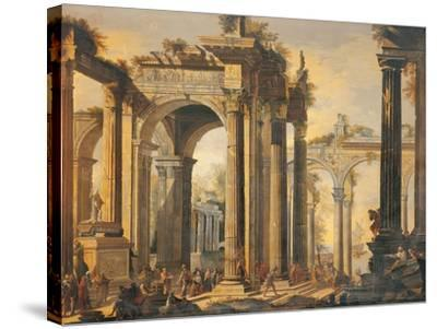 The Sacrifice of Polyxena-Giovanni Ghisolfi-Stretched Canvas Print