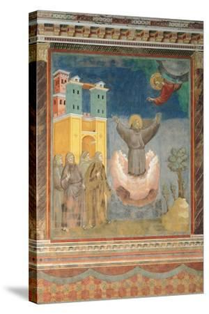 The Ecstasy of St Francis-Giotto di Bondone-Stretched Canvas Print