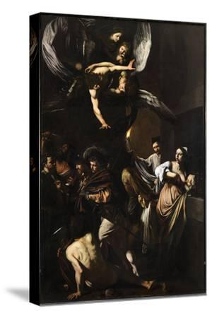 Seven Works of Mercy-Caravaggio-Stretched Canvas Print