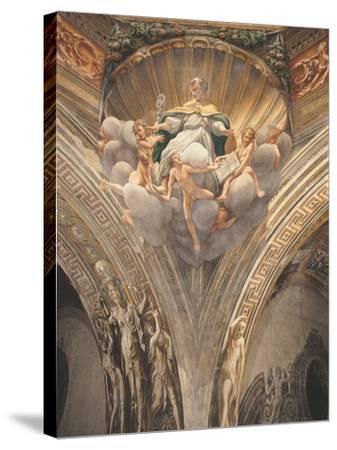Assumption of the Virgin-Correggio-Stretched Canvas Print