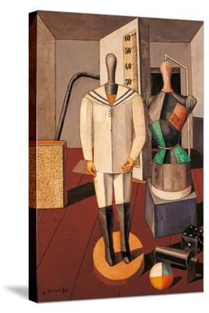 Mother and Son-Carlo Carr-Stretched Canvas Print
