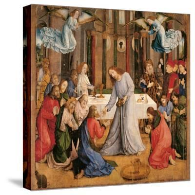 Communion of the Apostles-Giusto di Gand-Stretched Canvas Print