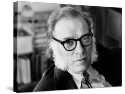 Portrait of Isaac Asimov--Stretched Canvas Print