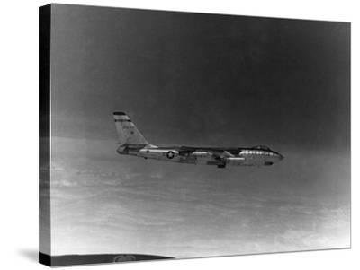 A B-57 of the United States Air Force Weather Agency--Stretched Canvas Print