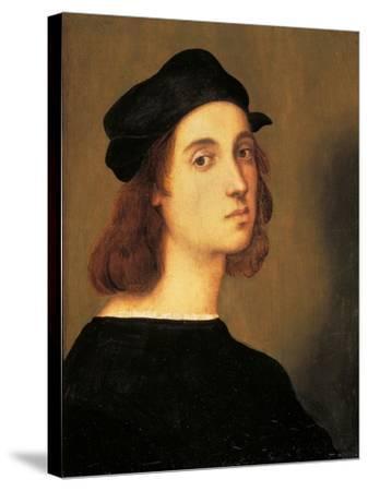 Self Portrait-Raphael-Stretched Canvas Print
