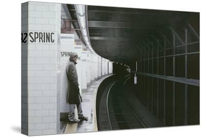 Subterraneans X (Spring Street) 1984-Max Ferguson-Stretched Canvas Print