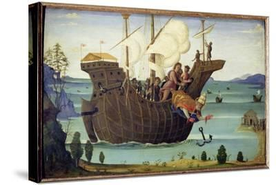 The Martyrdom of St. Clement-Bernardino Fungai-Stretched Canvas Print