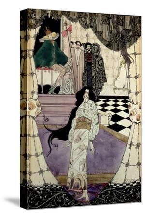 Illustration from the Little Mermaid, 1914-Harry Clarke-Stretched Canvas Print