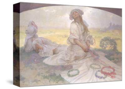 Song of Bohemia, c.1930-Alphonse Mucha-Stretched Canvas Print