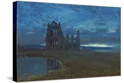 Whitby Abbey, 1900-Albert Goodwin-Stretched Canvas Print