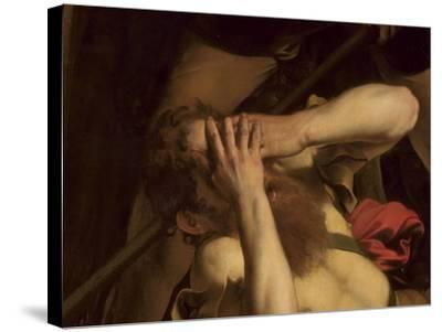 The Conversion of St. Paul (Detail)-Caravaggio-Stretched Canvas Print