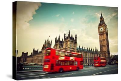 London, The Uk-Michal Bednarek-Stretched Canvas Print