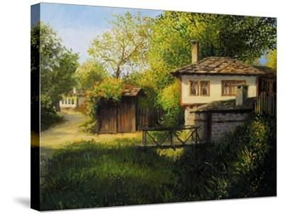 Late Afternoon In Bojenci-kirilstanchev-Stretched Canvas Print