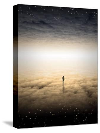 Mans Journey Of The Soul-rolffimages-Stretched Canvas Print