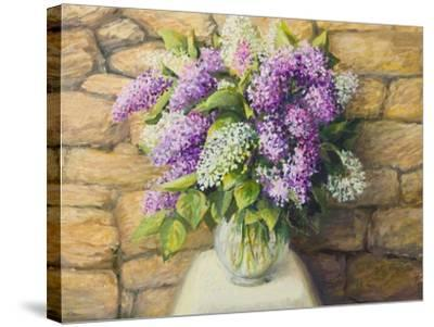 Still Life With Lilacs-kirilstanchev-Stretched Canvas Print