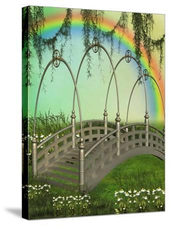 Fantasy Bridge-justdd-Stretched Canvas Print