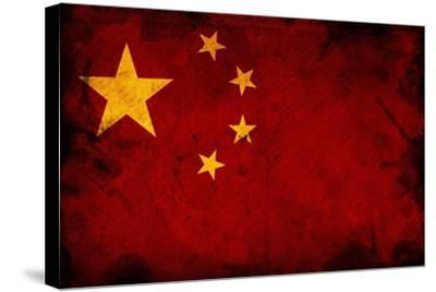 Flag Of China-igor stevanovic-Stretched Canvas Print