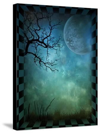 Magical Forest-inlove-Stretched Canvas Print