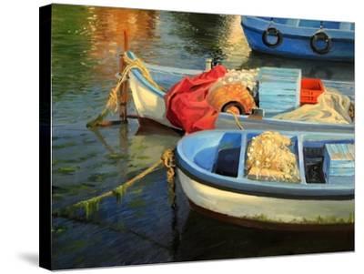 Fisherman'S Etude-kirilstanchev-Stretched Canvas Print