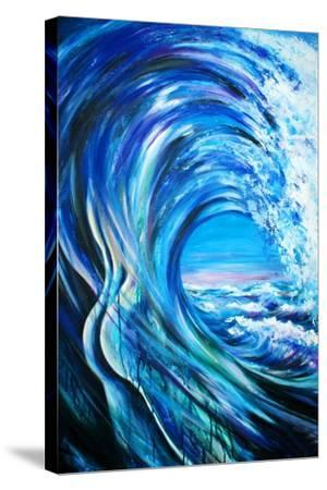 Wave-DannyWilde-Stretched Canvas Print