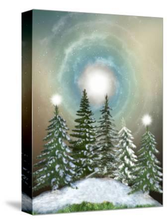 Winter-justdd-Stretched Canvas Print