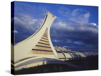 Olympic Stadium, Montreal, Quebec, Canada-Walter Bibikow-Stretched Canvas Print