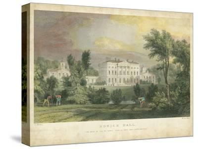 Howick Hall-T^ Allom-Stretched Canvas Print