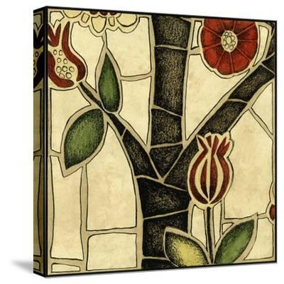 Small Floral Mosaic III-Megan Meagher-Stretched Canvas Print